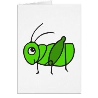 Cute Grasshopper Card