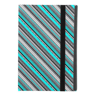 Cute gray aqua aztec patterns iPad mini 4 case