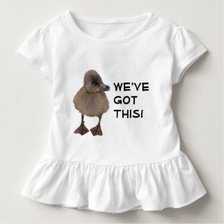 Cute Gray Duckling Photograph Toddler T-Shirt