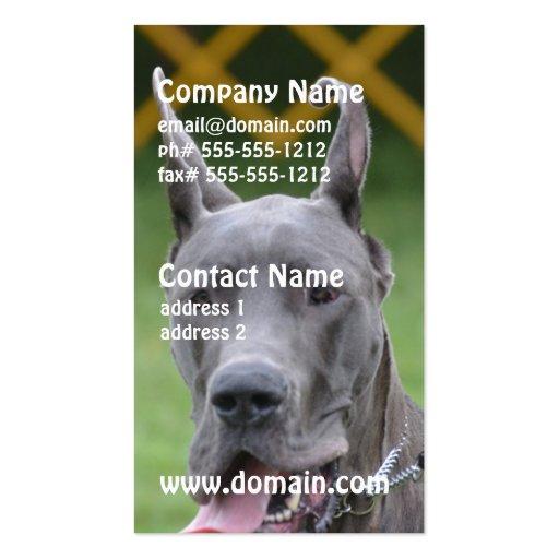 Cute Great Dane Business Card