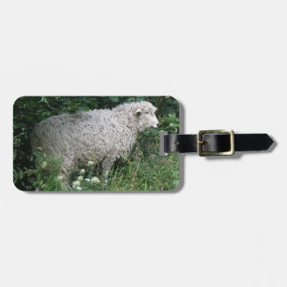 Cute Greedy Sheep Eating Custom Luggage Tag