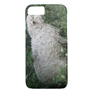 Cute Greedy Sheep iPhone Case