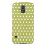 Cute Green and White Polka Dots Pattern Gifts