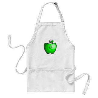 Cute Green Apple Standard Apron