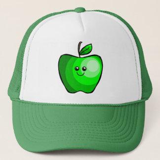 Cute Green Apple Trucker Hat