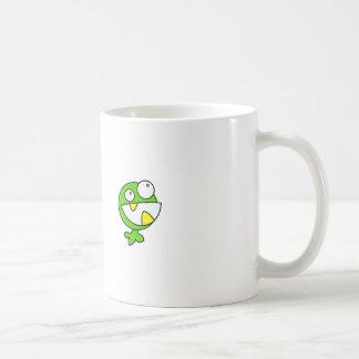 Cute Green Baby Monster Mugs