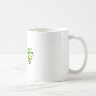 Cute Green Baby Monster Coffee Mug