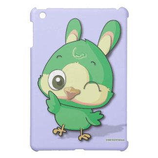 Cute Green Bird Funny Cartoon Character iPad Case