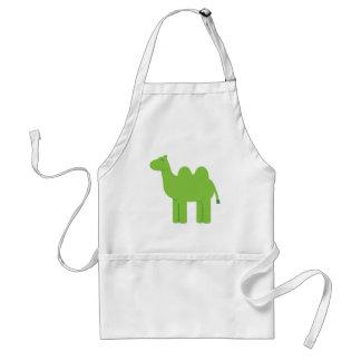 Cute Green Camel Standard Apron