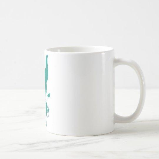 Cute Green Cyclops Coffee Mug