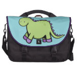 Cute Green Dinosaur Commuter Bag