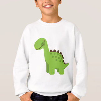 Cute Green Dinosaur Sweatshirt