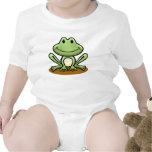 Cute Green Frog T-shirts