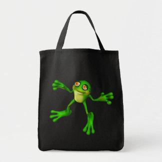 Cute Green Froggy Bag