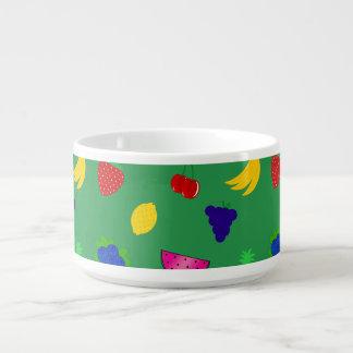 Cute green fruits chili bowl