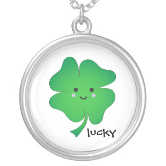 Cute Green Lucky Clover Jewelry