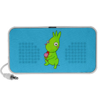 Cute Green monster Speakers