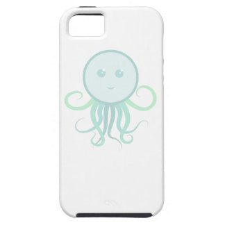 Cute Green Octopus iPhone Case