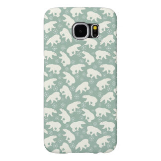Cute green Polar Bear Case