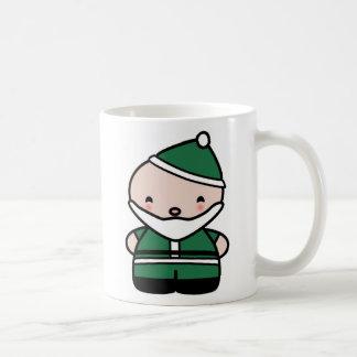 Cute Green Santa Mug- My Very First Christmas Coffee Mug