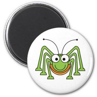 Cute Green Spider Refrigerator Magnet