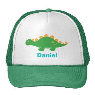 Cute Green Stegosaurus Dinosaur for Trucker Hat