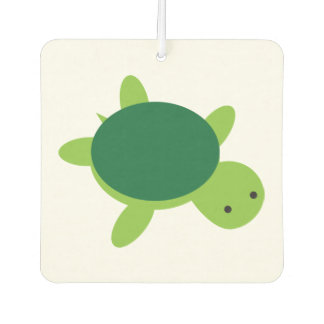 Cute Green Turtle Car Air Freshener