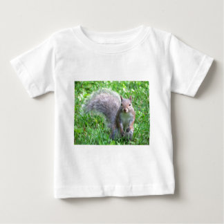 Cute Grey Squirrel Baby T-Shirt