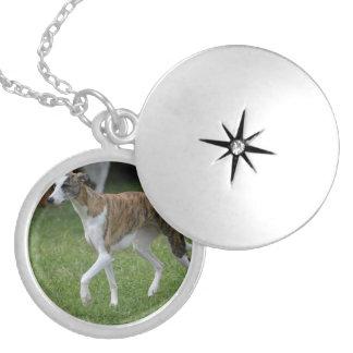 Cute Greyhound Locket