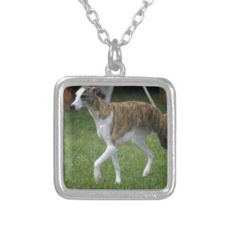 Cute Greyhound Personalized Necklace