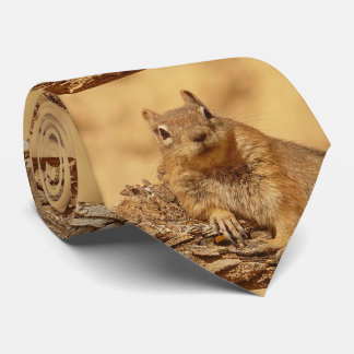 Cute Ground Squirrel Tie