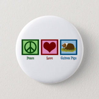 Cute Guinea Pig 6 Cm Round Badge
