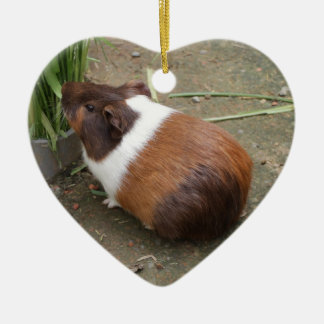 Cute Guinea Pig Christmas Ornament