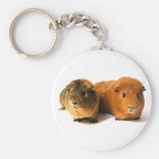 cute guinea pig key ring