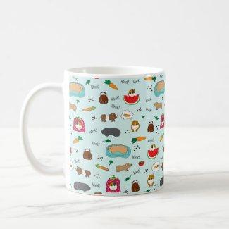 Cute Guinea Pigs Mug