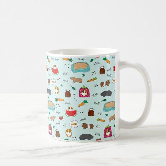 Cute Guinea Pigs Coffee Mug
