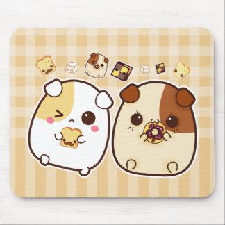 Cute guinea pigs mousepads