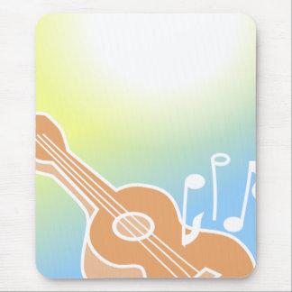 Cute Guitar Mousepad