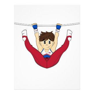Cute Gymnast on Bar Flyer