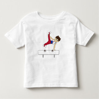 Cute Gymnast on Pommel Horse Tee