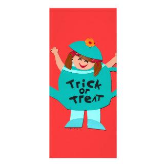 Cute Halloween Bookmark Custom Rack Cards