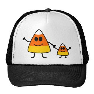 Cute Halloween Candy Corn Family Cap
