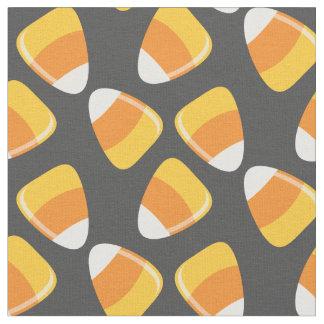 Cute Halloween Candy Corn Pattern Fabric