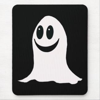 Cute Halloween Cartoon Ghost Mouse Mat