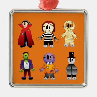 Cute Halloween Costume Character Christmas Ornament