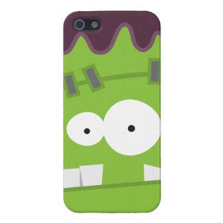 Cute Halloween Frankenstein Monster Face iPhone 5 Case