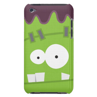 Cute Halloween Frankenstein Monster Face iPod Touch Case-Mate Case