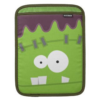 Cute Halloween Frankenstein Monster Face Sleeve For iPads