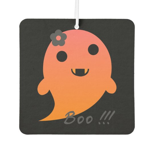 Cute Halloween Ghost Car Air Freshener