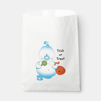 Cute Halloween Ghost Cartoon Favour Bags
